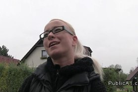 Секс за деньги с блондинкой