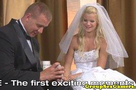 Секс с невестой на свадьбе